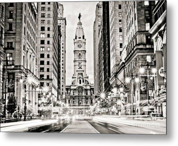 Colors On Broad B/w Metal Print by Stacey Granger