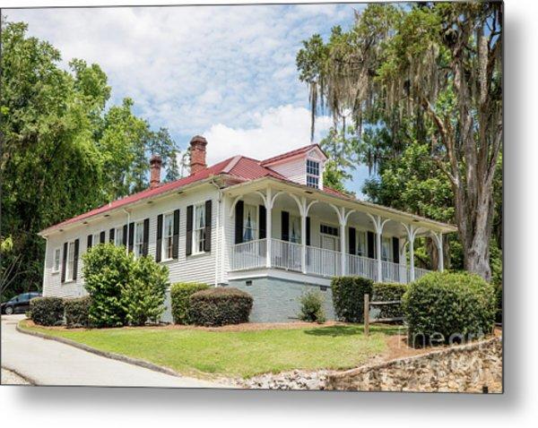 Columbia County Visitors Center - Savannah Rapids Metal Print