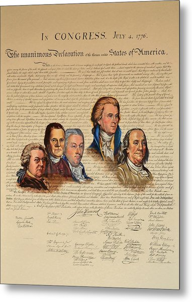 Committee Of Five Metal Print