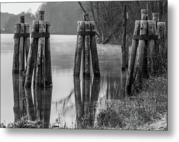 Connecticut River At Dawn Metal Print