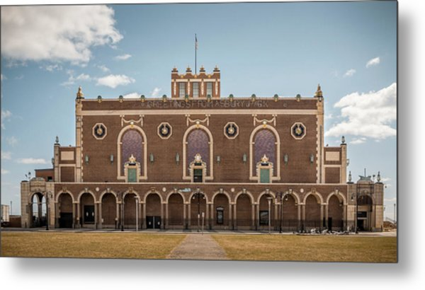 Convention Hall Metal Print