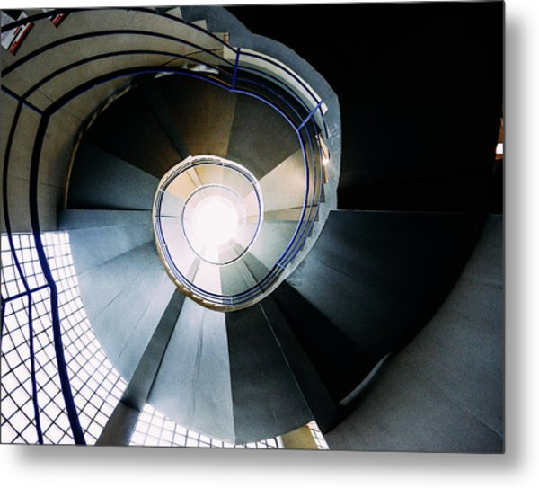 Convoluted Staircase  Metal Print
