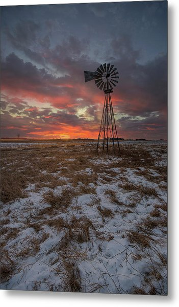Metal Print featuring the photograph Cool Breeze  by Aaron J Groen