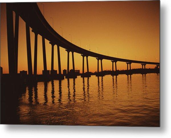 Coronado Bridge Metal Print by Harvey Meston