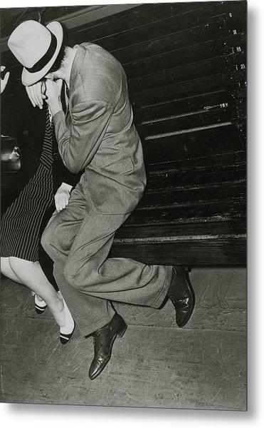Couples, Romance, Pic Circa 1940, A Man Metal Print