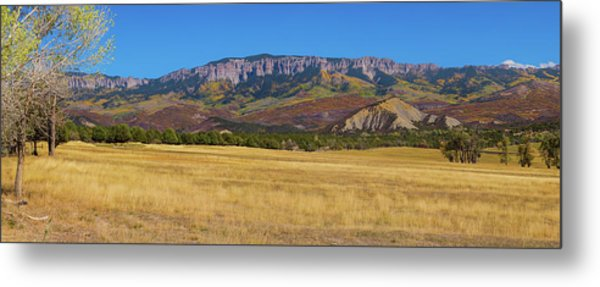 Courthouse Mountain To Baldy Peak - San Juan Large Panorama Pt1 Metal Print by James BO Insogna