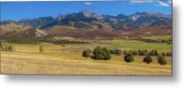 Courthouse Mountain To Baldy Peak - San Juan Large Panorama Pt2 Metal Print by James BO Insogna