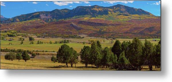 Courthouse Mountain To Baldy Peak - San Juan Large Panorama Pt3 Metal Print by James BO Insogna
