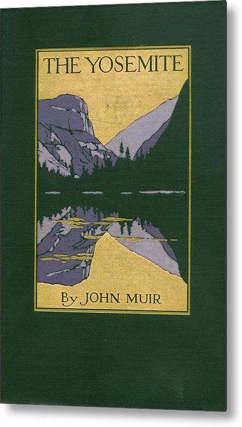Cover Design For The Yosemite Metal Print