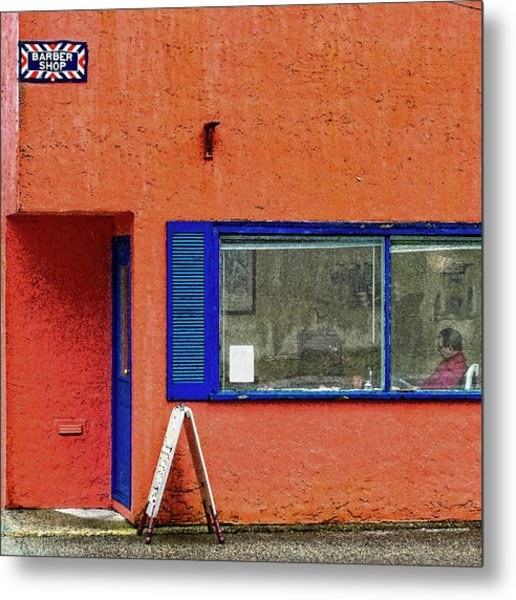 Cranberry Barber Shop Metal Print