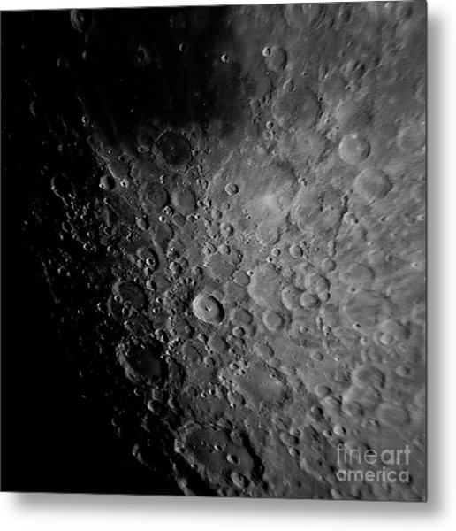 Crater Tyco Metal Print