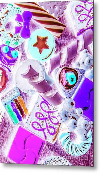 Creative Confectionary Metal Print