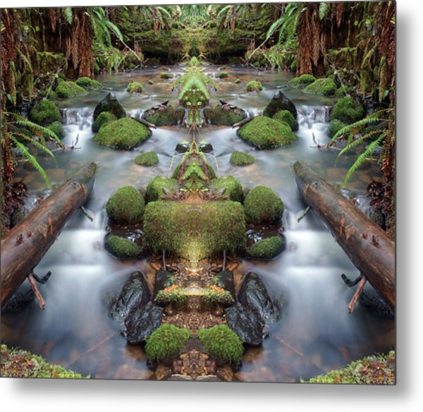 Creek Diamonds #1n Metal Print