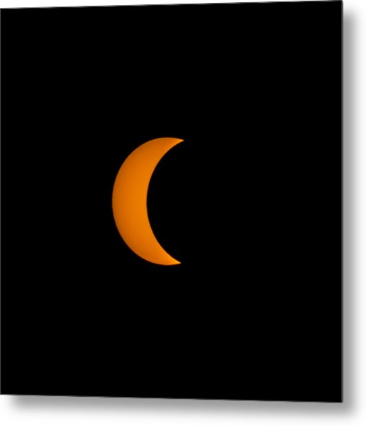 Crescent Sun Metal Print by Christine Buckley