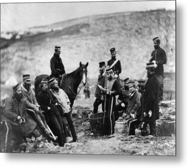 Crimean Soldiers Metal Print by Hulton Archive