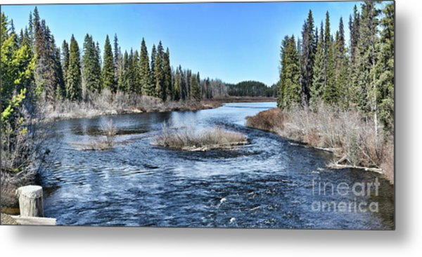 Crooked River Metal Print