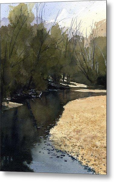 Crow Creek, Augusta, Missouri Metal Print