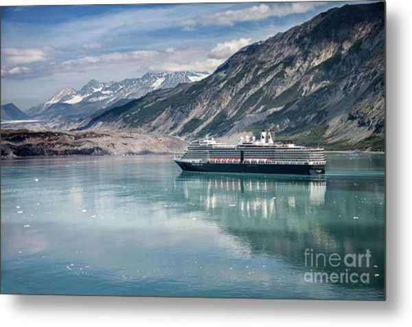 Cruise Ship Metal Print