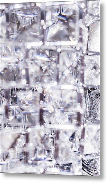 Crystal Bling Iv Metal Print