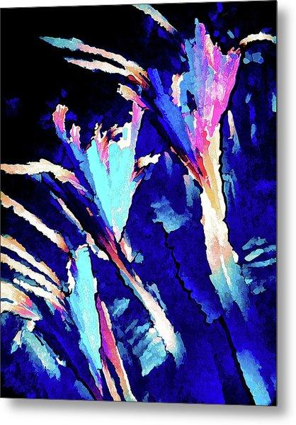 Crystal C Abstract Metal Print