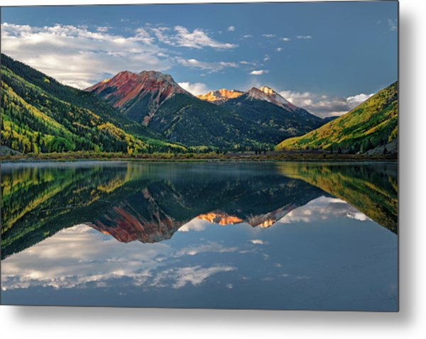 Metal Print featuring the photograph Crystal Morning by Angela Moyer