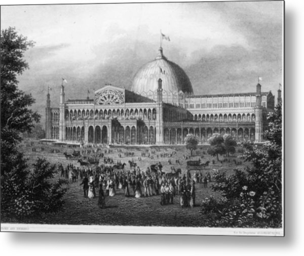 Crystal Palace Metal Print by Fotosearch