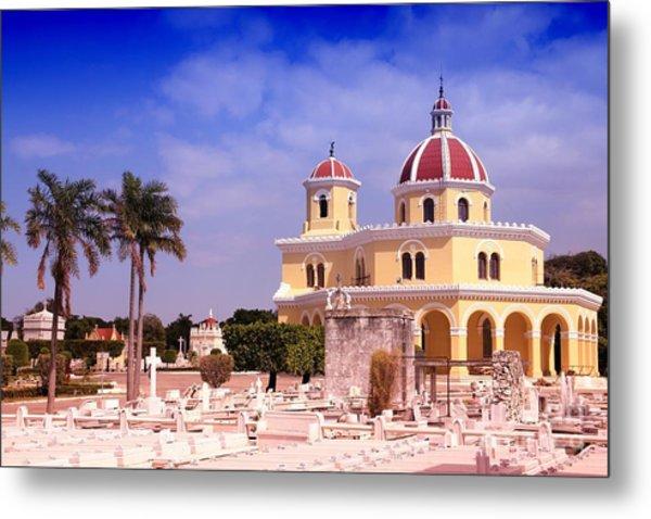 Cuba - The Main Cemetery Of Havana Metal Print