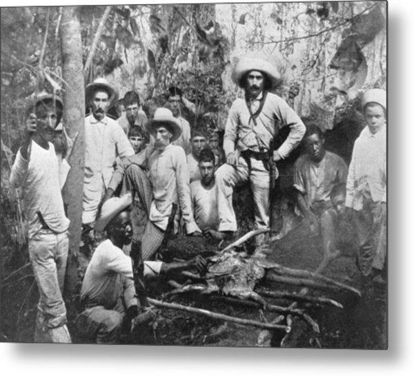 Cuban Rebels Metal Print by Hulton Archive