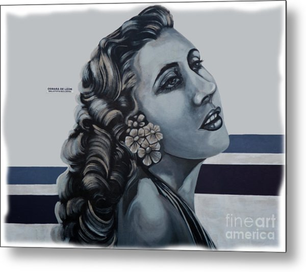 Cuenca Murals - Osmara De Leon Metal Print