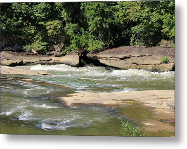 Metal Print featuring the photograph Cumberland River by Angela Murdock