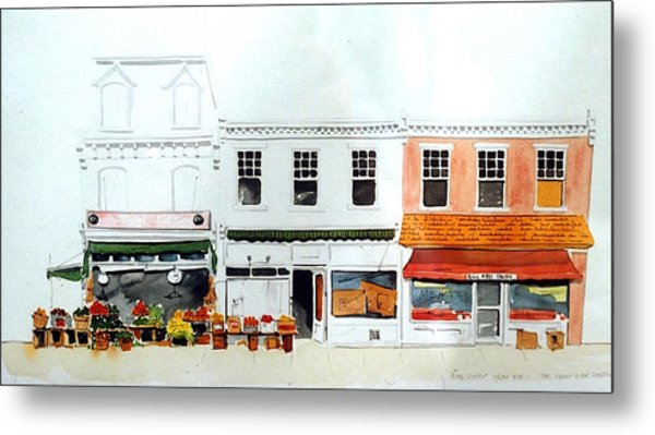 Cutrona's Market On King St. Metal Print