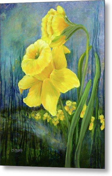 Daffodil Dream Metal Print