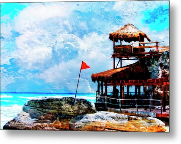Danger Point Metal Print