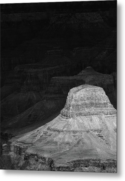 Dark Grand Canyon Metal Print