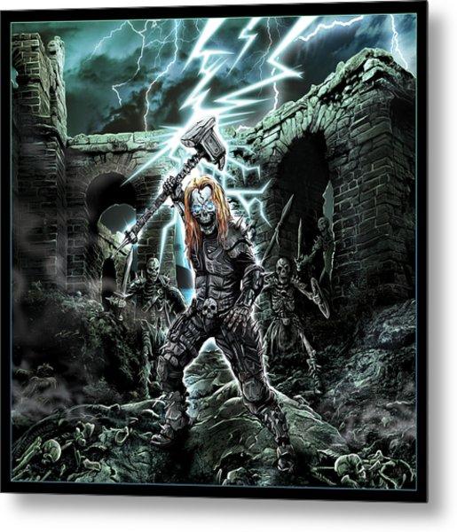 Dark Thor Metal Print