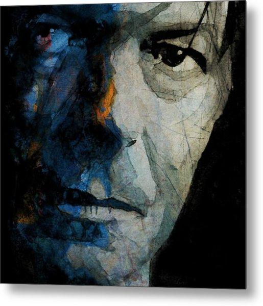 David Bowie _ Chameleon Metal Print