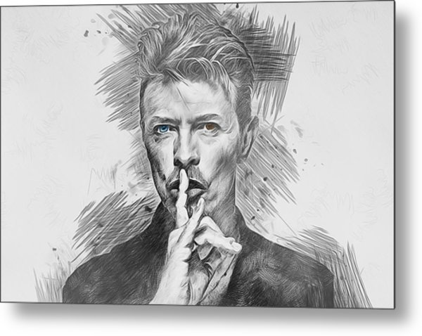 David Bowie. Metal Print
