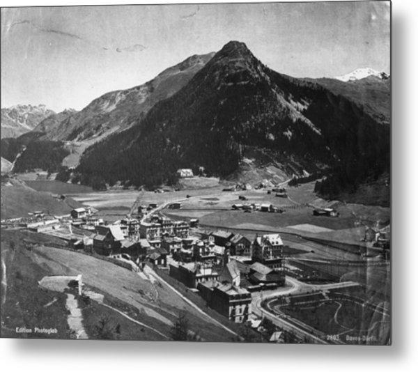 Davos Metal Print by Hulton Archive