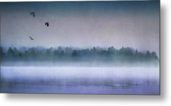 Dawn Of The Fog Metal Print