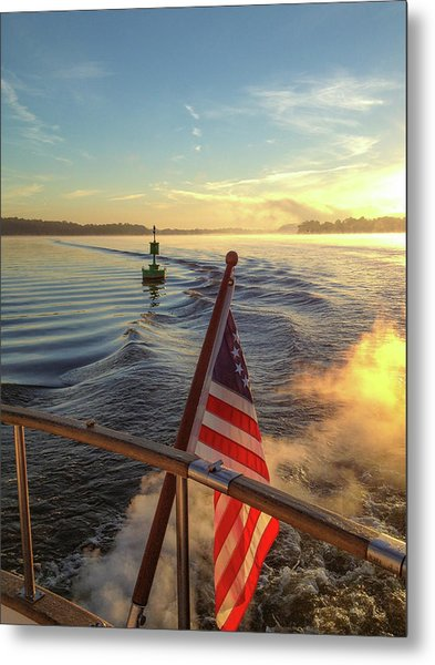 Metal Print featuring the photograph Dawn On The Sassafras River by Mark Duehmig