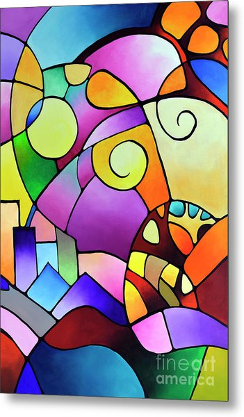 Daydream Canvas Two Metal Print