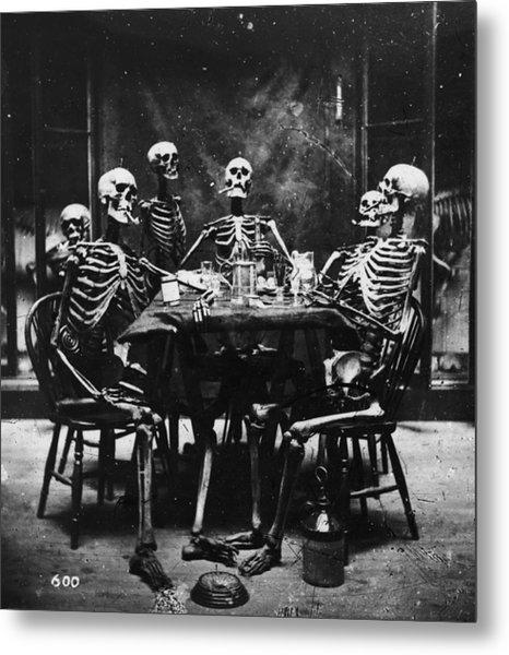 Deathly Diners Metal Print