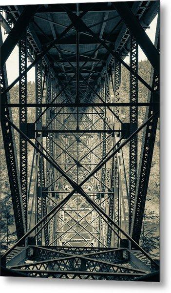 Deception Pass Bridge Metal Print