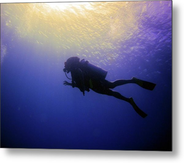 Deep Ascent Metal Print