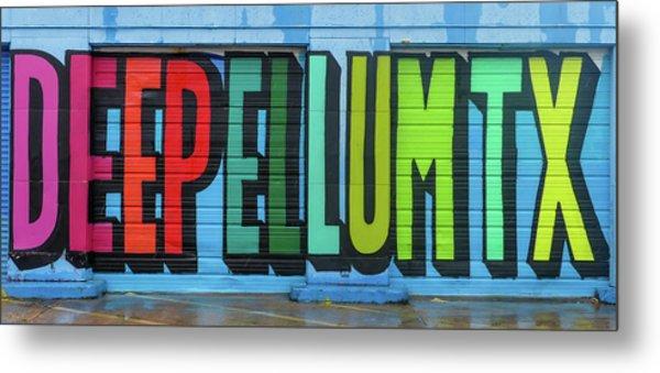 Deep Ellum Wall Art Metal Print