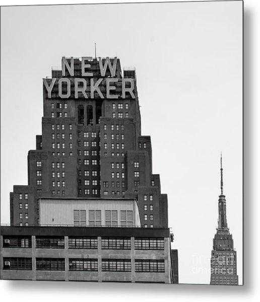 Defining New York Metal Print