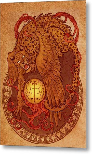 Demons Of Goetia Haures / Flauros Metal Print by Cambion Art