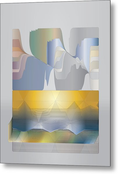 Desert Filter Box Metal Print