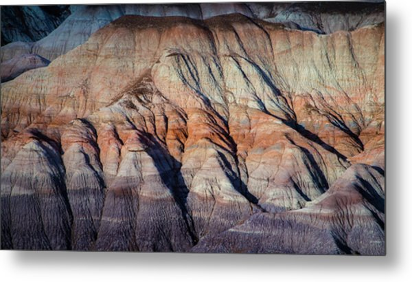 Desert  In Abstract Metal Print