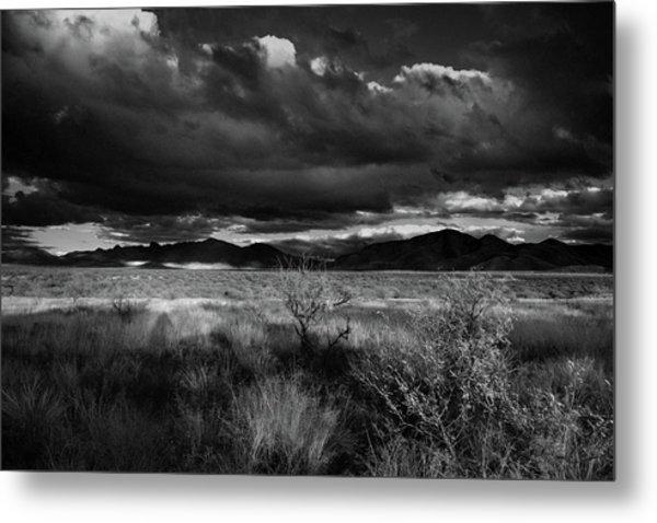 Metal Print featuring the photograph Desert Shadow Moods by Chance Kafka